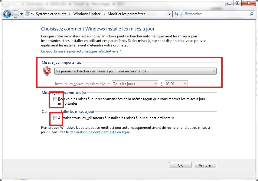 comment mettre windows 7 gratuitement