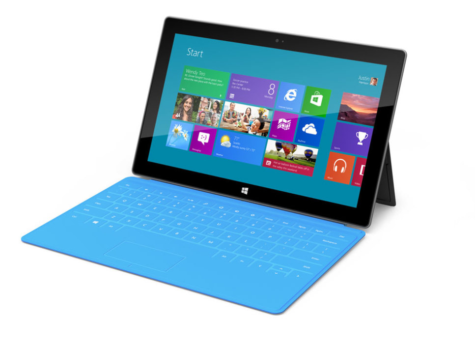 La tablette Surface, de Microsoft