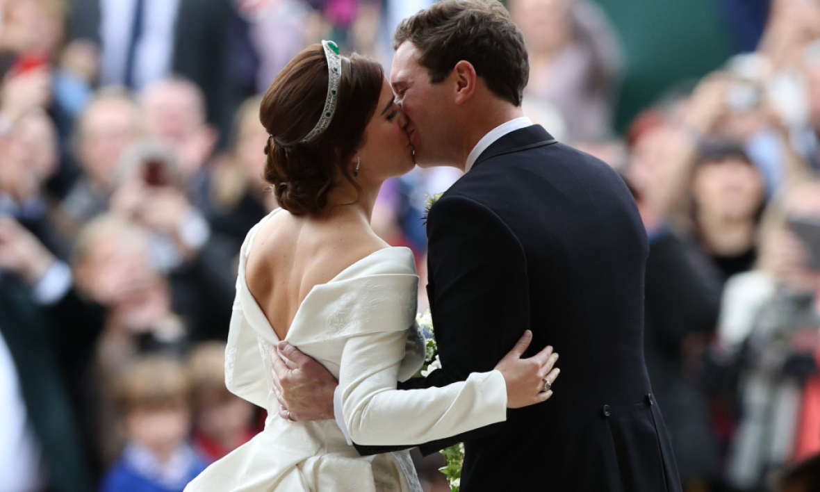 La princesse Eugenie et son mari Jack Brooksbank