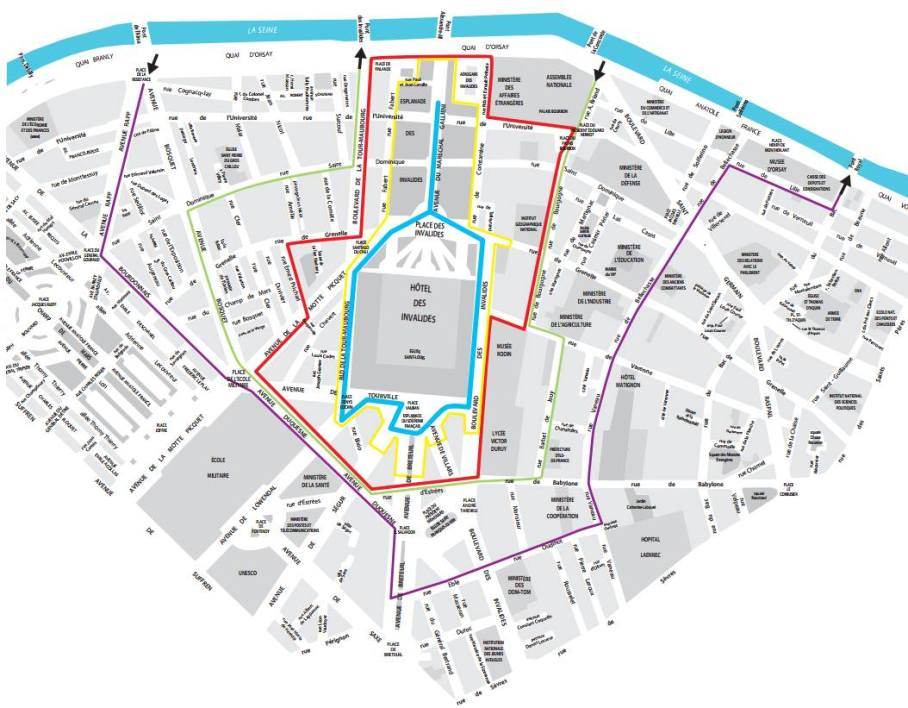 Carte circuit e-Prix de Paris 2016