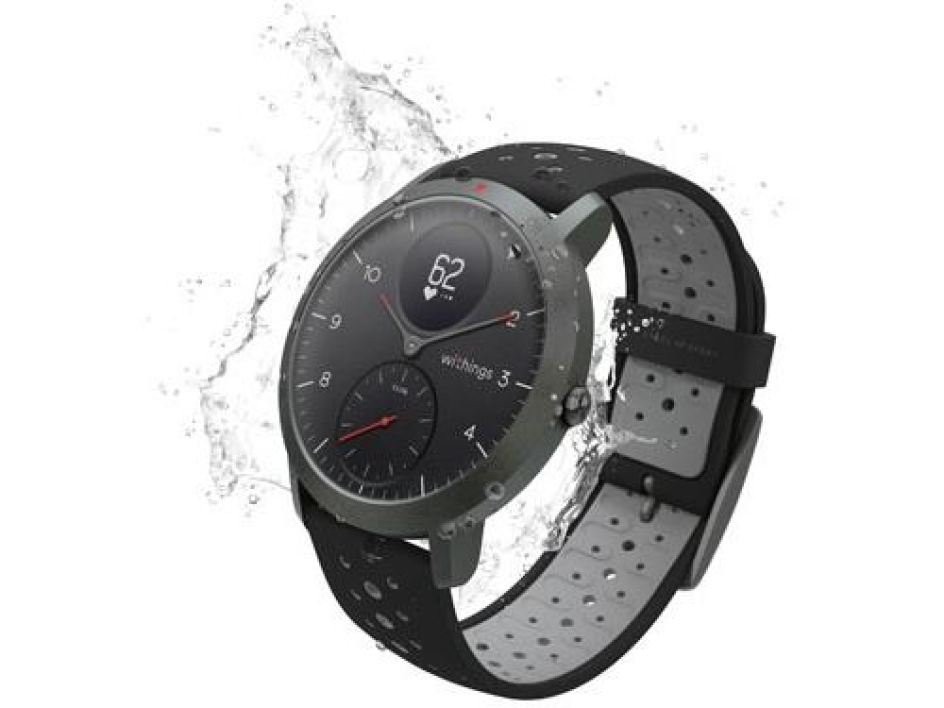 Montre connectée hybride Withings Steel HR Sport 40 mmMontre connectée hybride Withings Steel HR Sport 40 mm