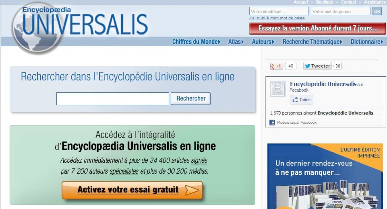 encyclopedie universalis nombre de pages
