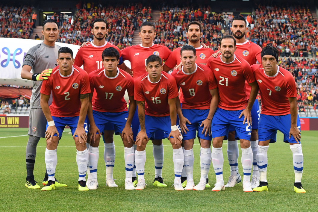 Coupe du monde 2018 : Costa Rica