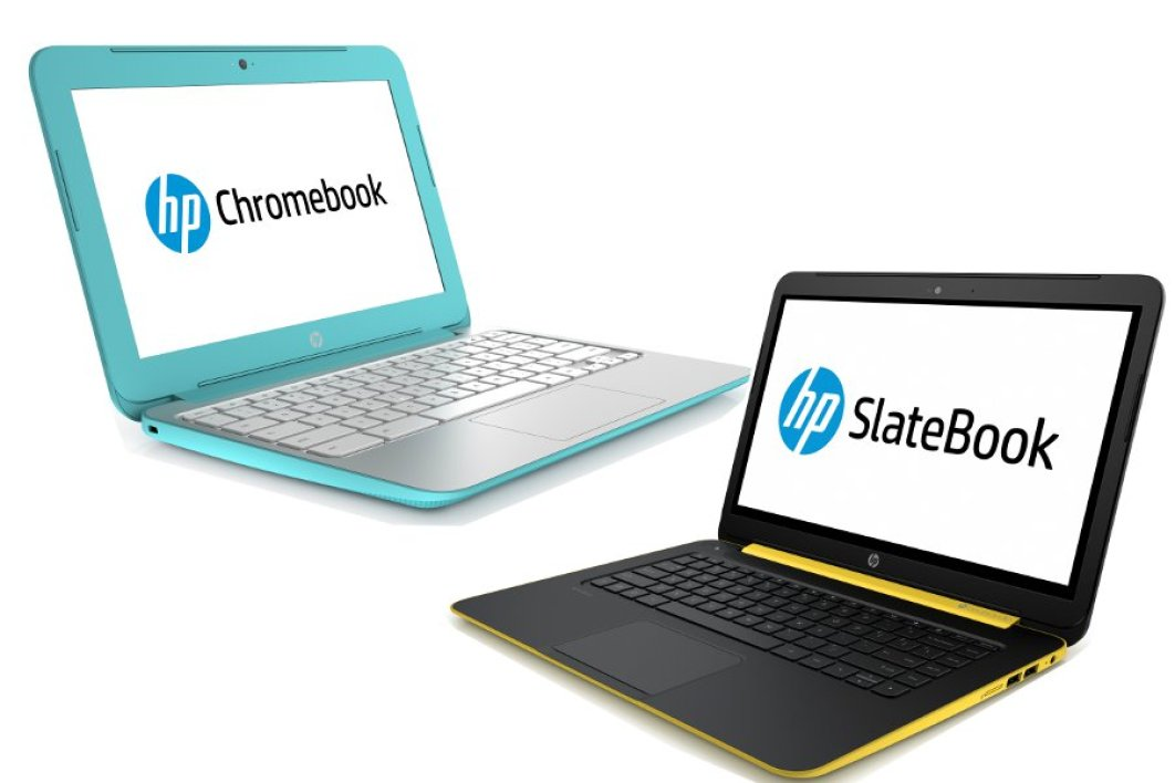HP Chromebook et HP Slatebook