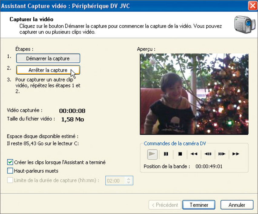 logiciel capture video camescope dv gratuit