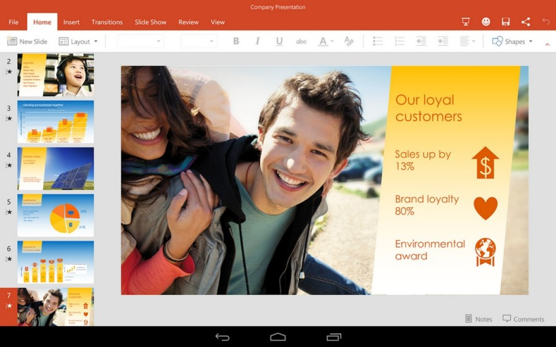 PowerPoint Preview pour Android