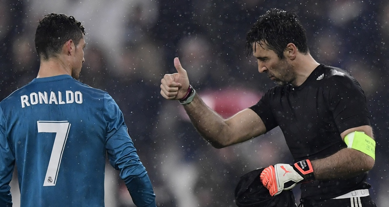 Buffon salue Ronaldo