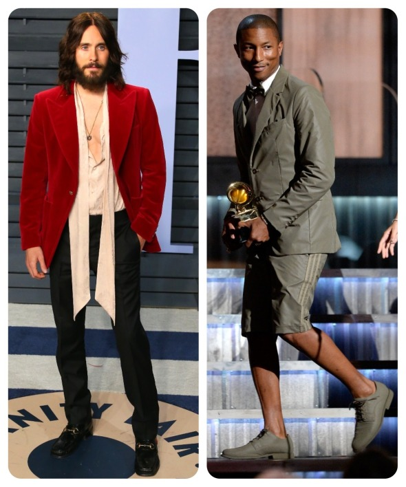Jared Leto, Pharrell Williams