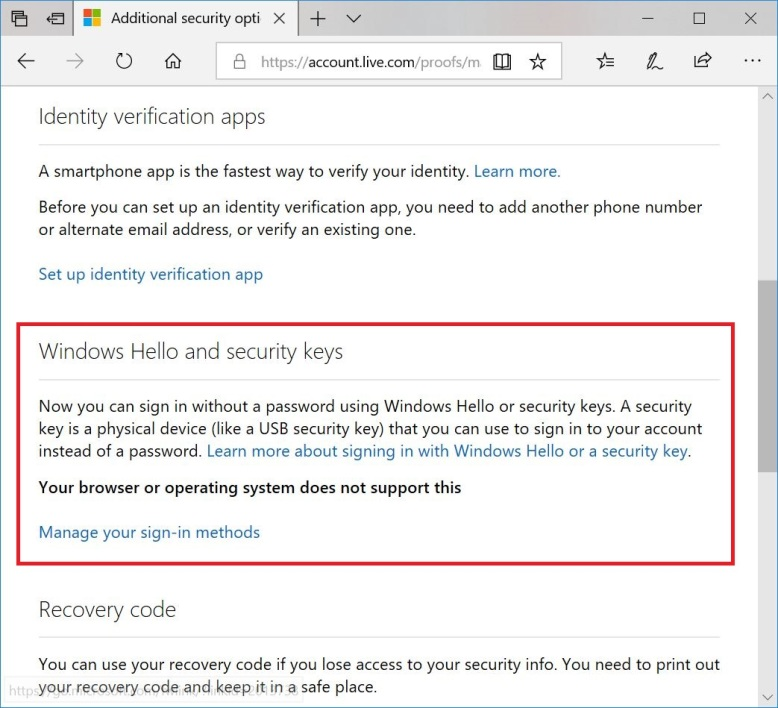 No More Passwords To Log In To Microsoft Services Manchikoni