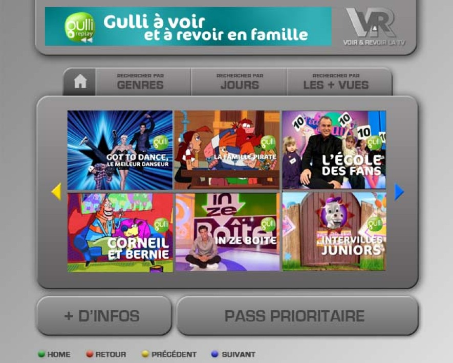 Gulli sur Freebox TVReplay