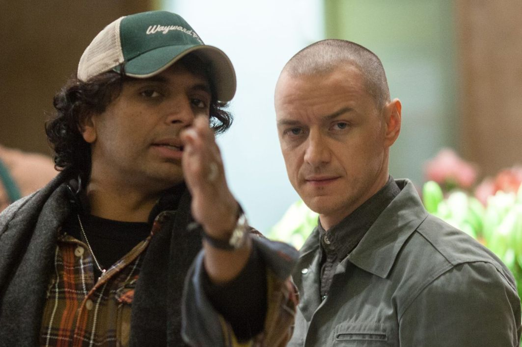 M. Night Shyamalan et James McAvoy