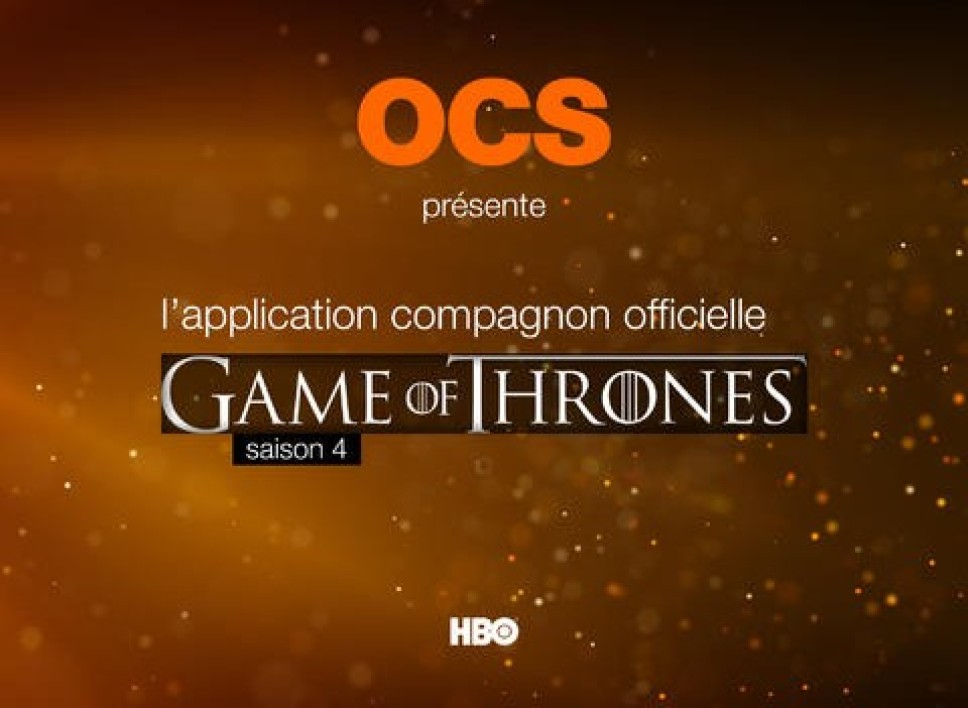Game of Thrones S4 Compagnon TV officiel