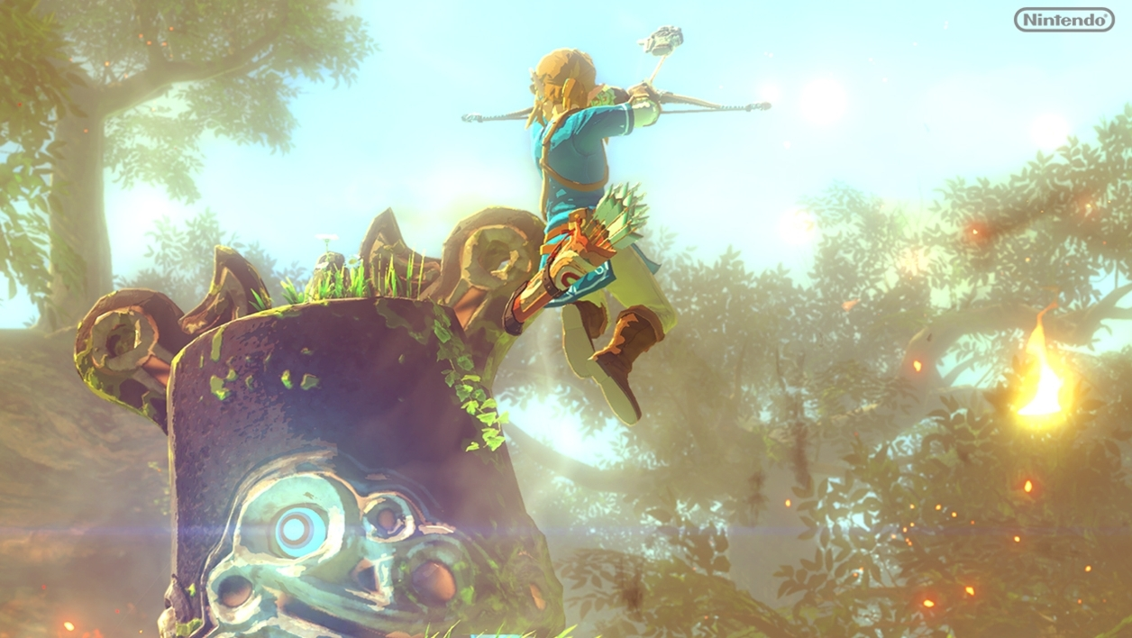 Nintendo The Legend of Zelda Wii U