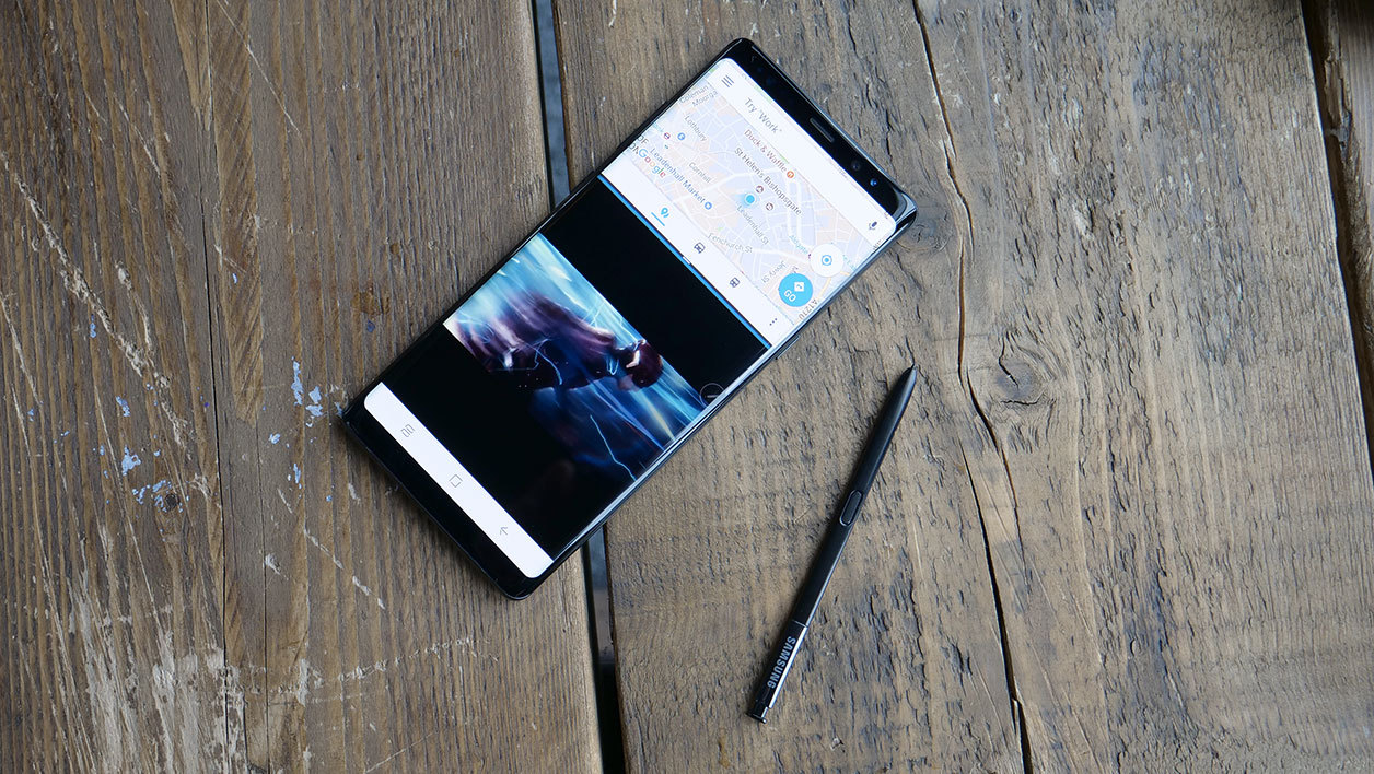 Galaxy Note 8 et son stylet