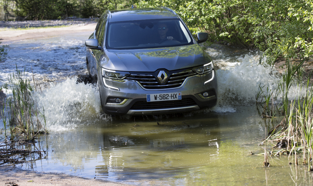 Renault Koleos 2 - 4x4 Workshop