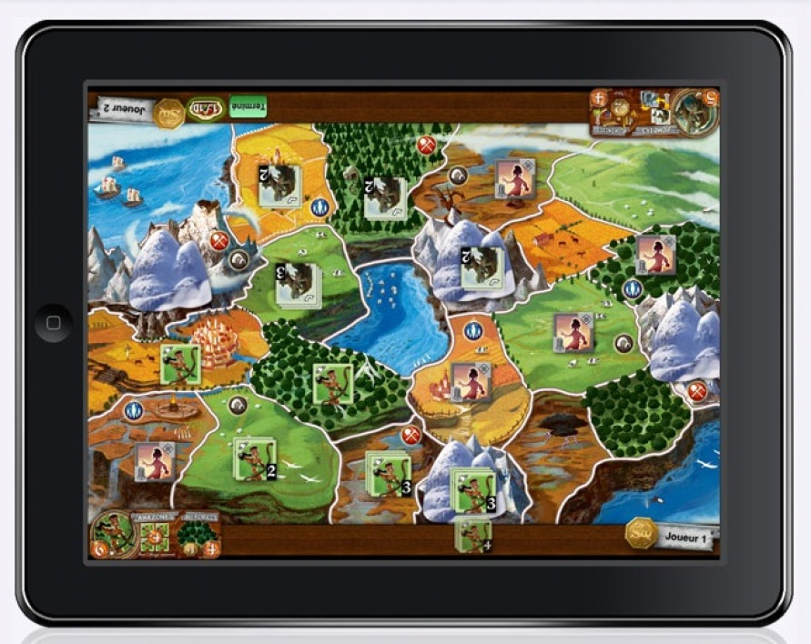 Small World sur iPad