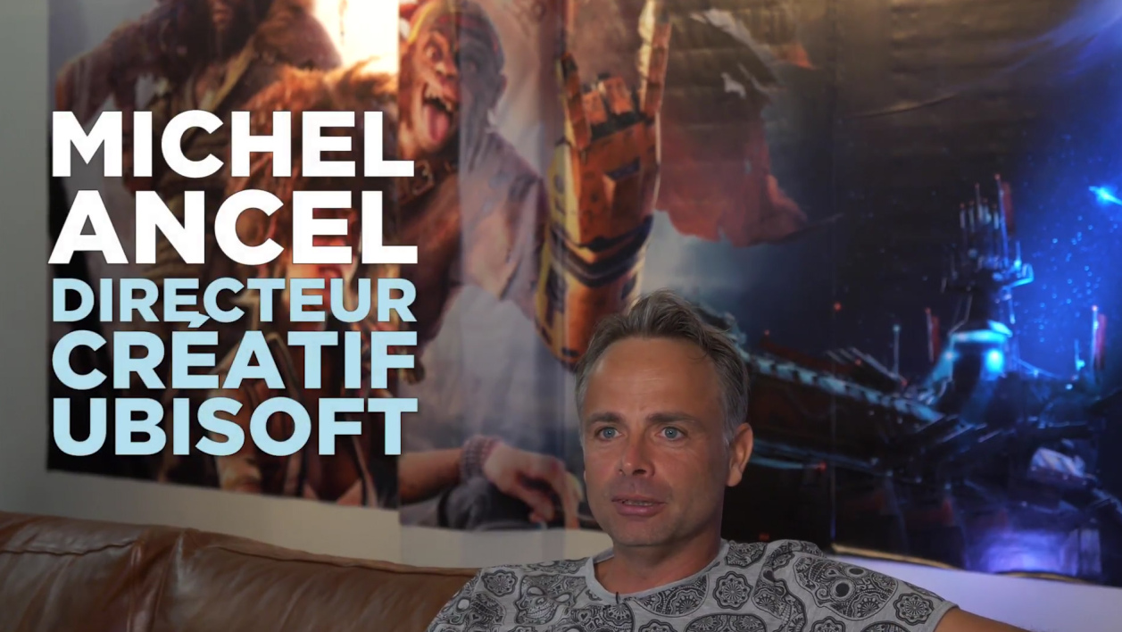 Michel Ancel SELL