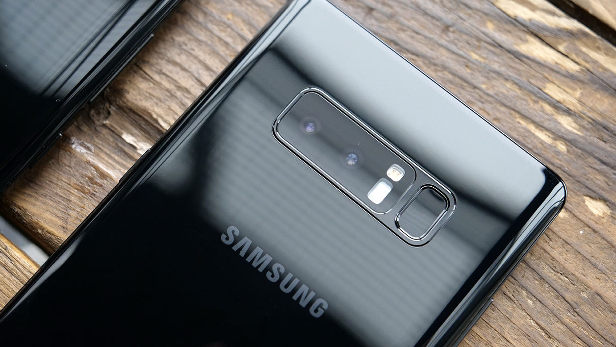 Double capteur photo du Galaxy Note 8