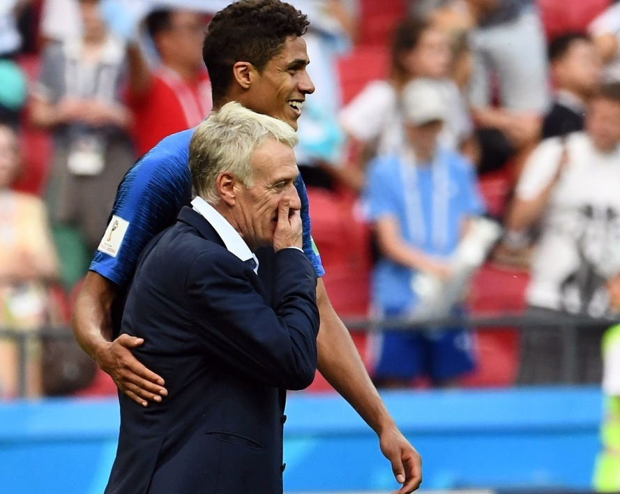 Varane et Deschamps