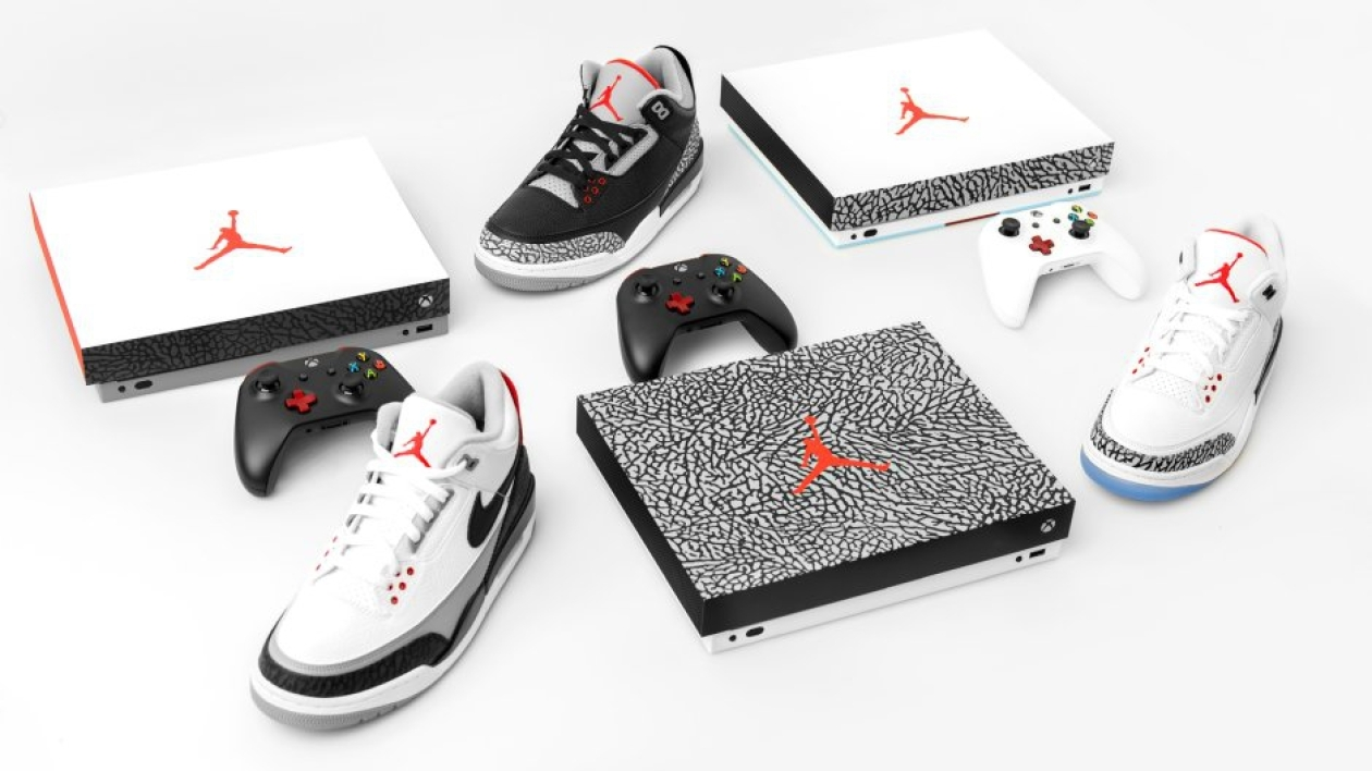 Xbox Nike La X Rencontre Baskets Quand Les Air Jordan One htsrCQd