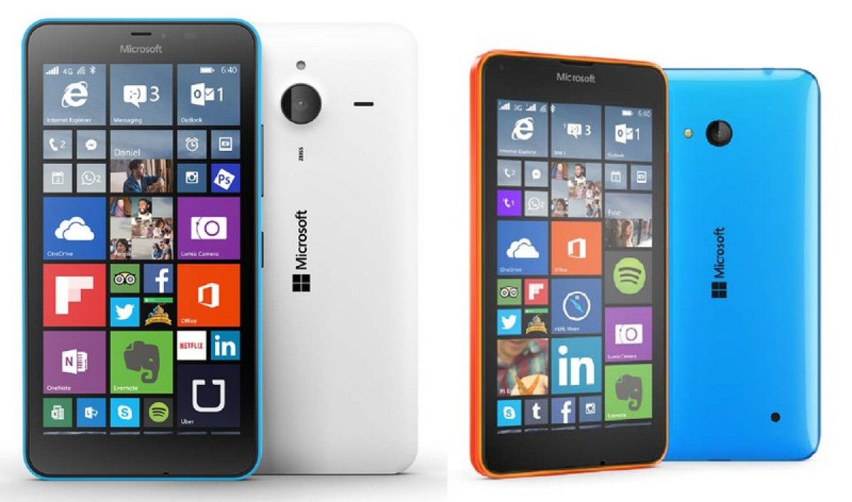 Lumia 640 XL et Lumia 640