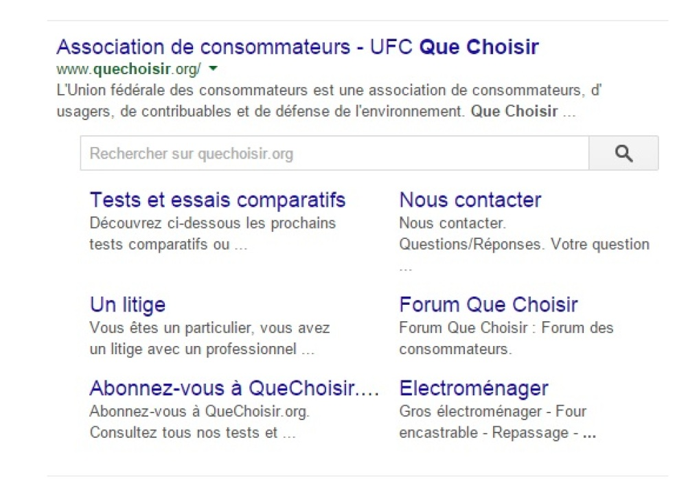 "La ""search box"" de Google"