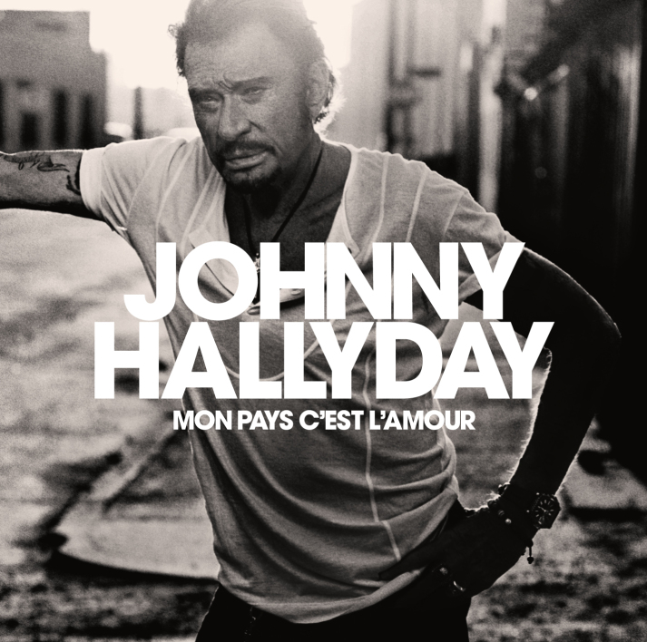 La couverture de l'album posthume de Johnny