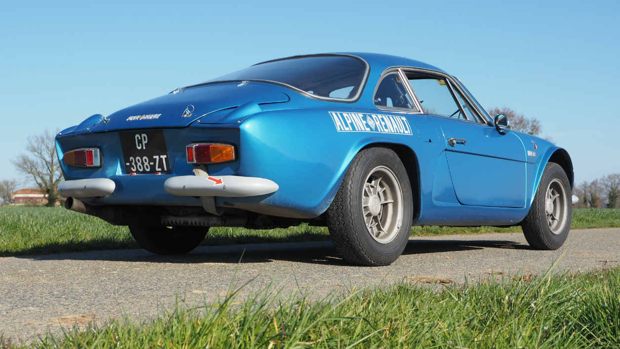 Tour Auto Alpine A110