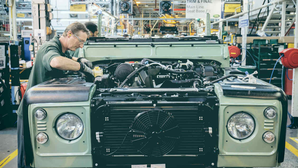 Land Rover Defender la fin