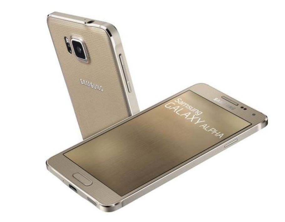 Le Samsung Galaxy Alpha pour concurrencer l'iPhone 6