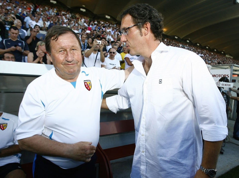 Guy Roux et Laurent Blanc