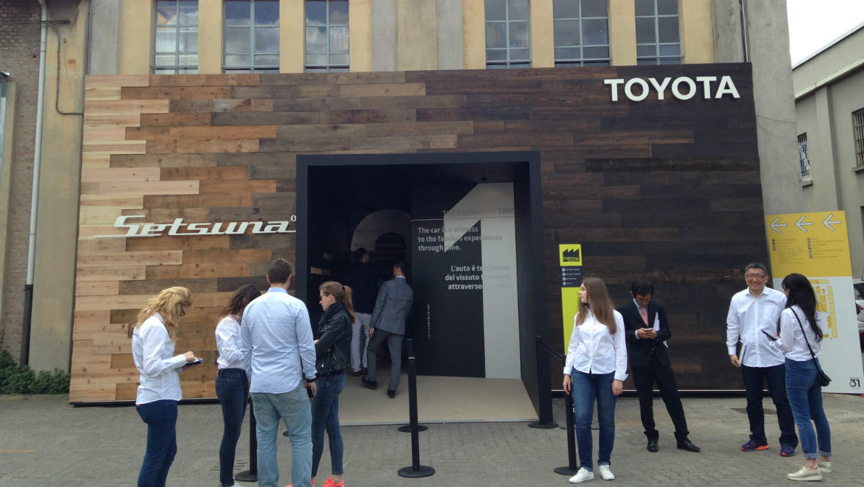 Milan Design Week Toyota