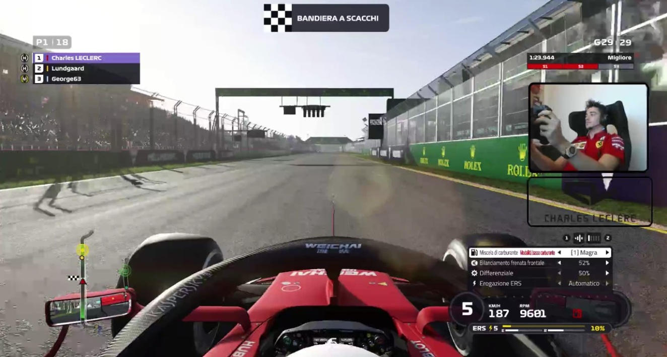Twitch/Charles Leclerc