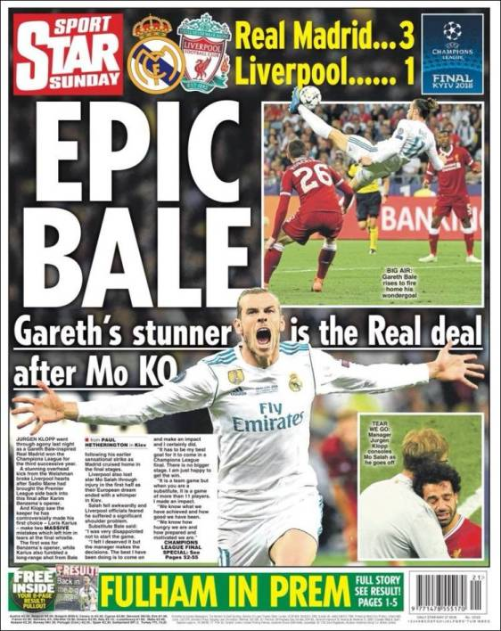 "Star Sport : ""Epique Bale"""