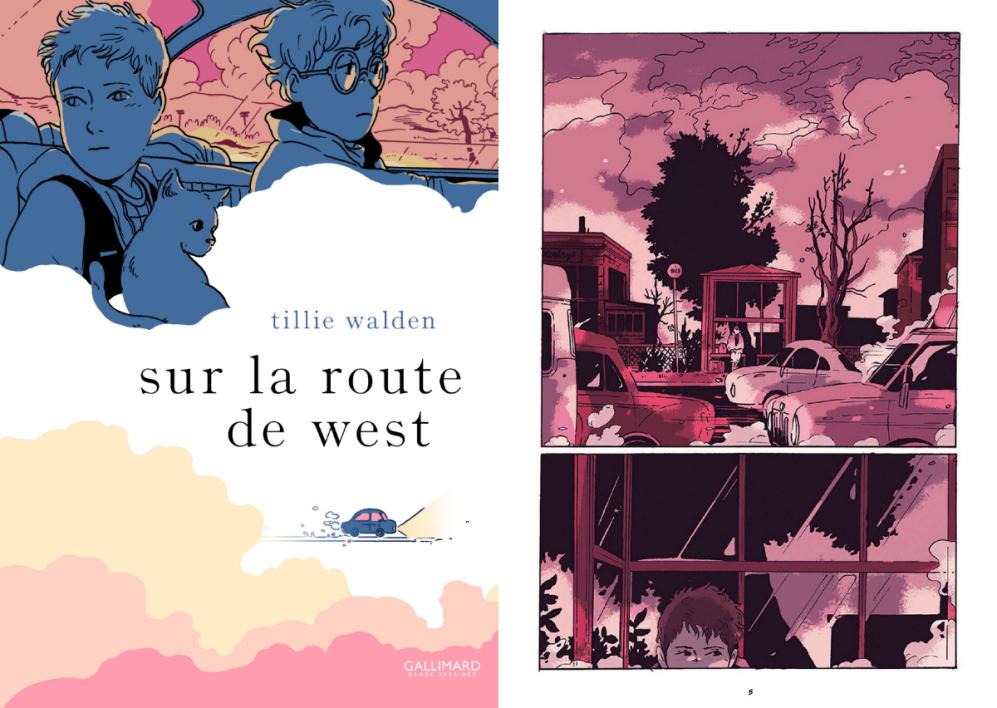 Sur la route de West de Tillie Walden