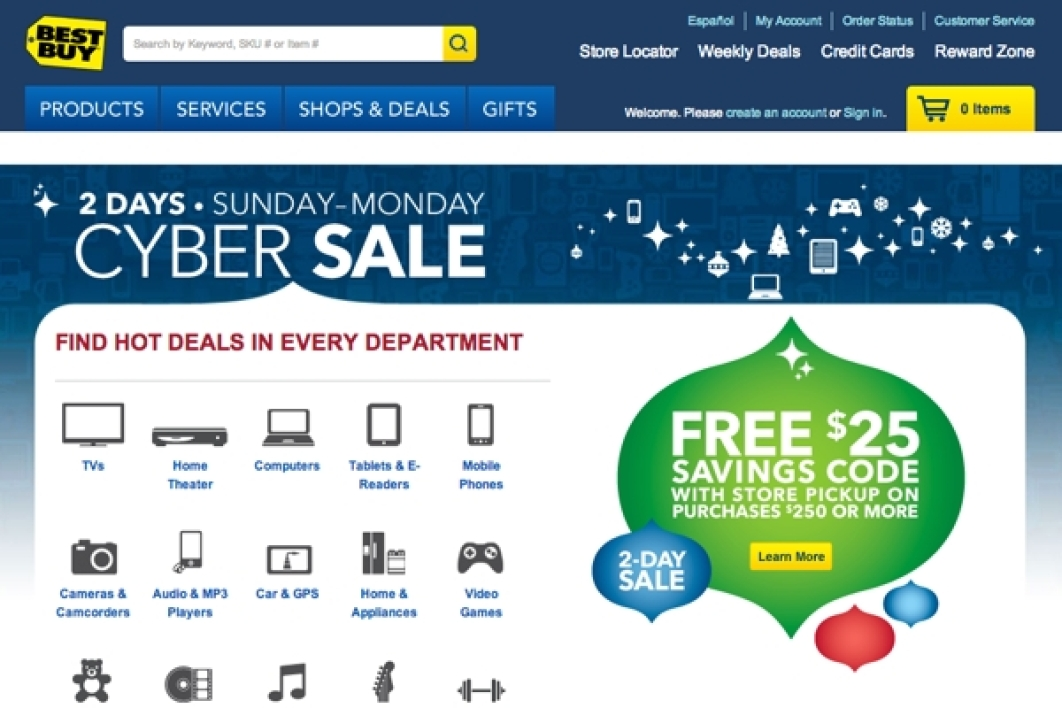 Site américaine de Best Buy