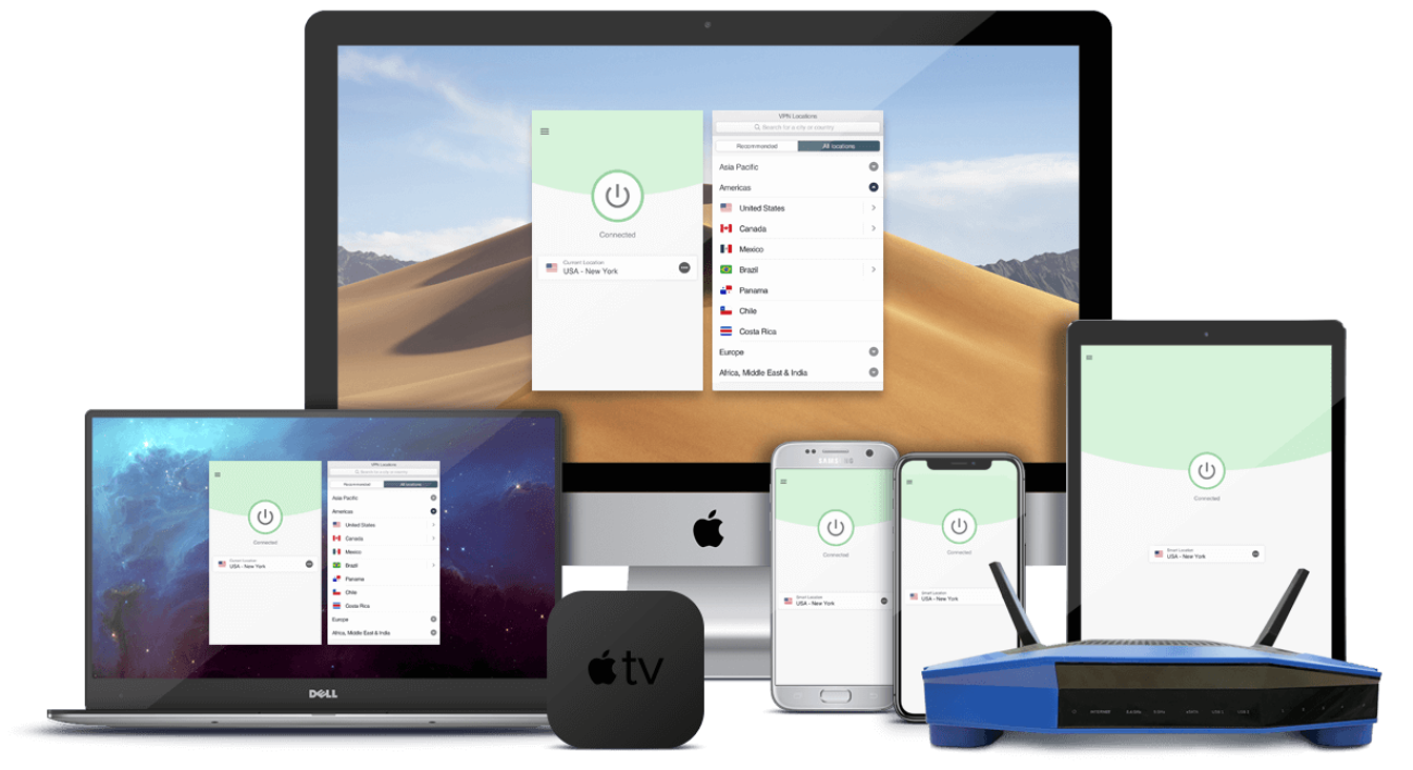 Nord VPN :  Ordinateur, android, iOS