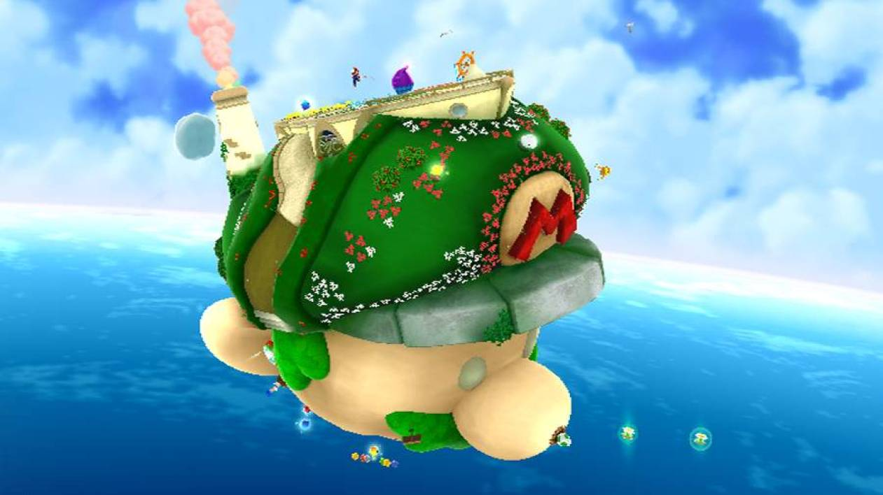 Super Mario Galaxy 2 - Planète