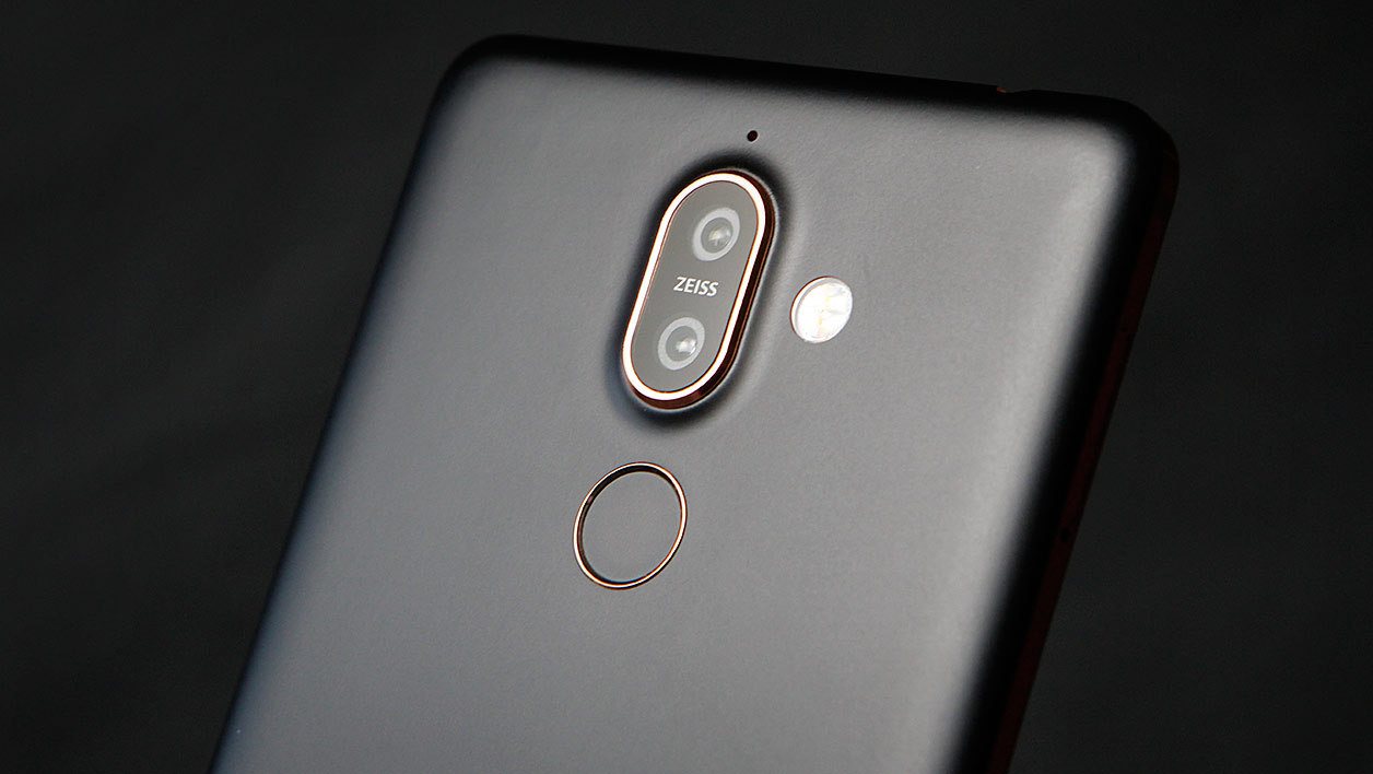 Le double module photo du Nokia 7 Plus