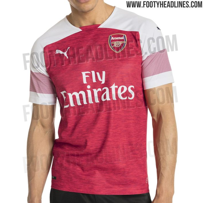 Le probable futur maillot d'Arsenal