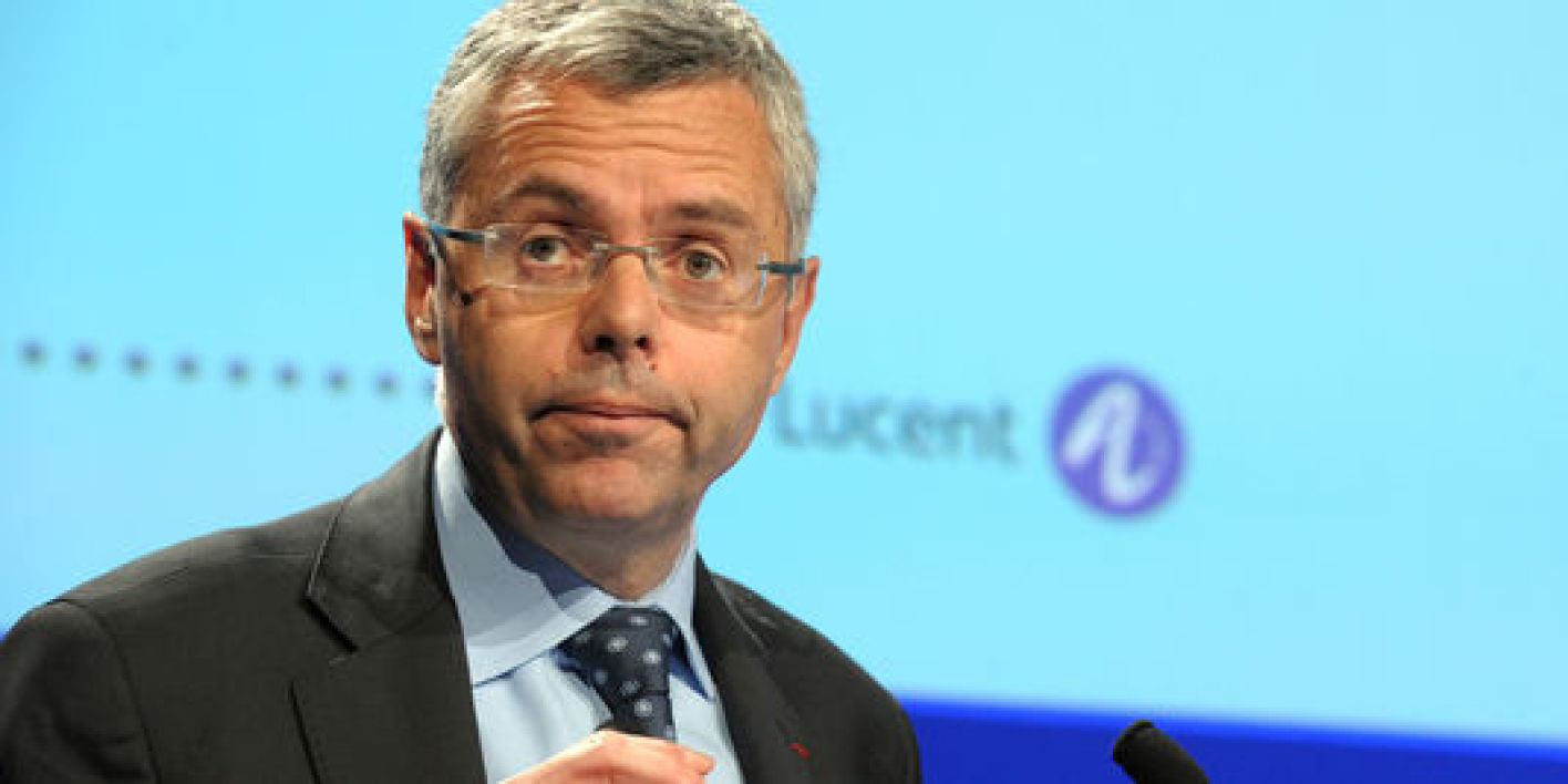 Michel Combes, pdg d'Alcatel-Lucent