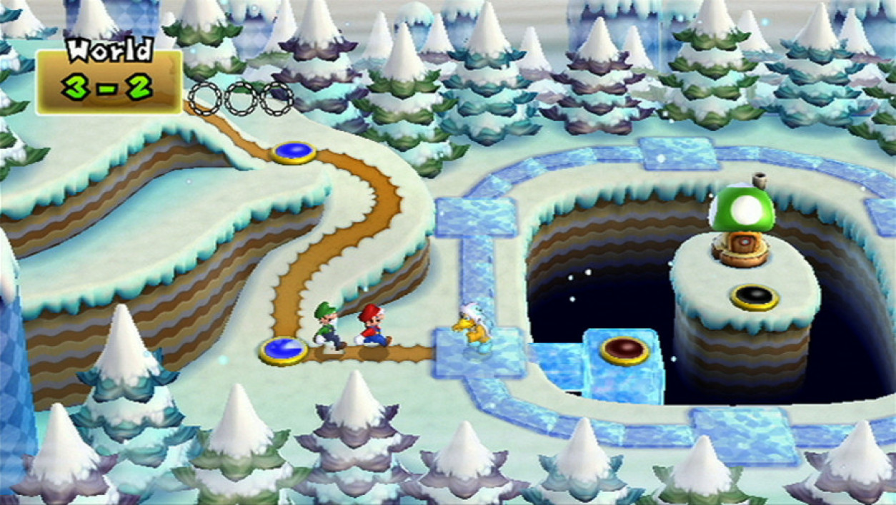 New Super Mario Bros Wii - Les mondes habituels