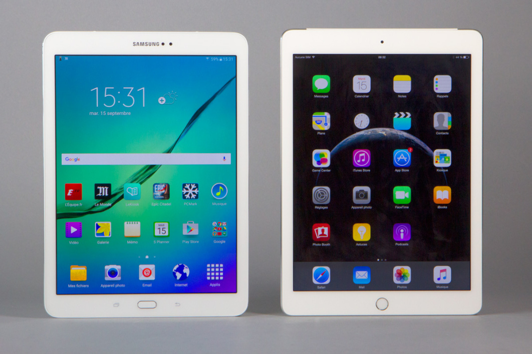 Samsung galaxy tab s2 9 7 wi fi le test complet for Photo ecran tablette samsung