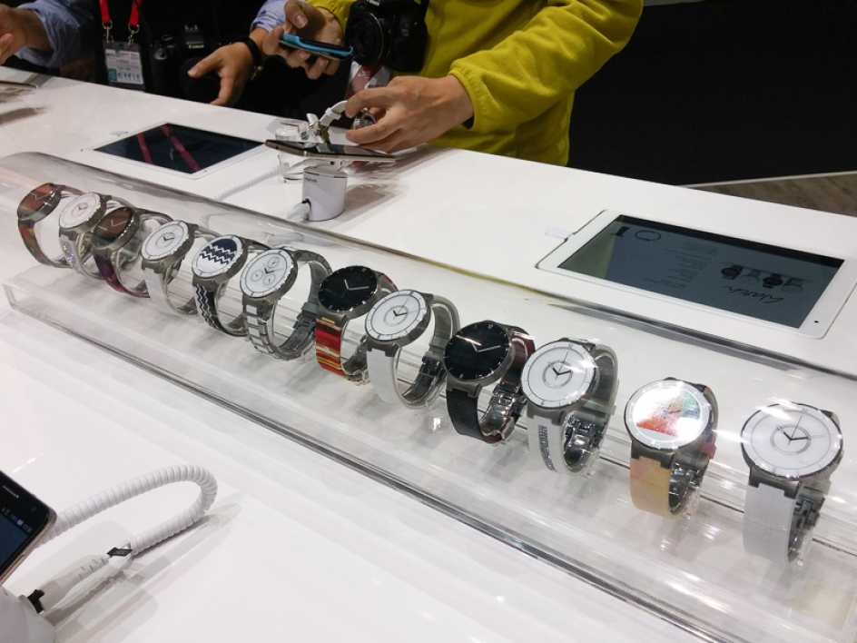 La collection Alcatel Onetouch Watch