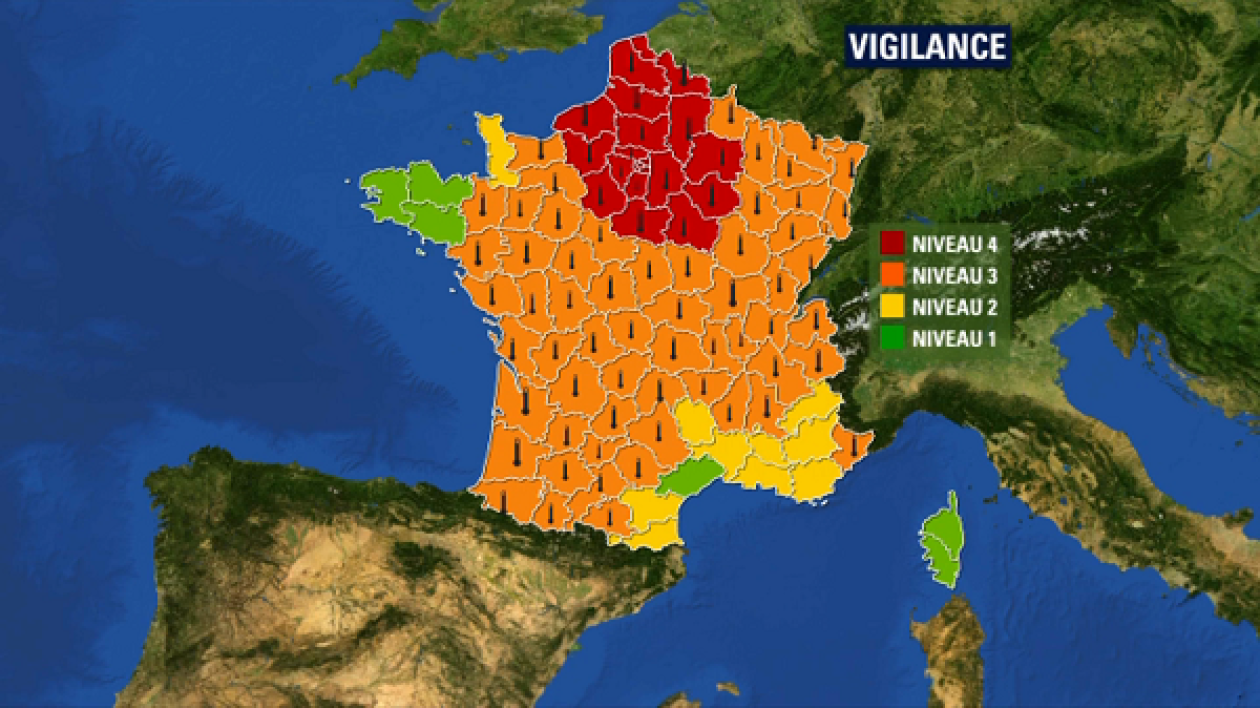 Zone rouge canicule