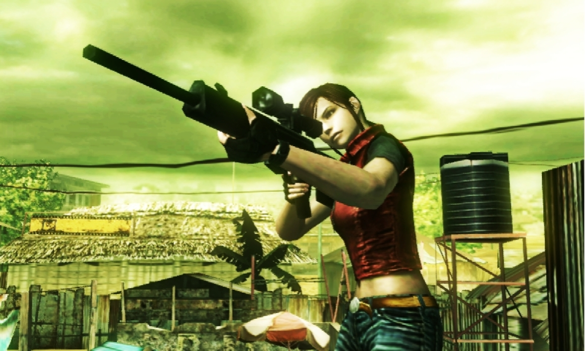 Claire Redfield...