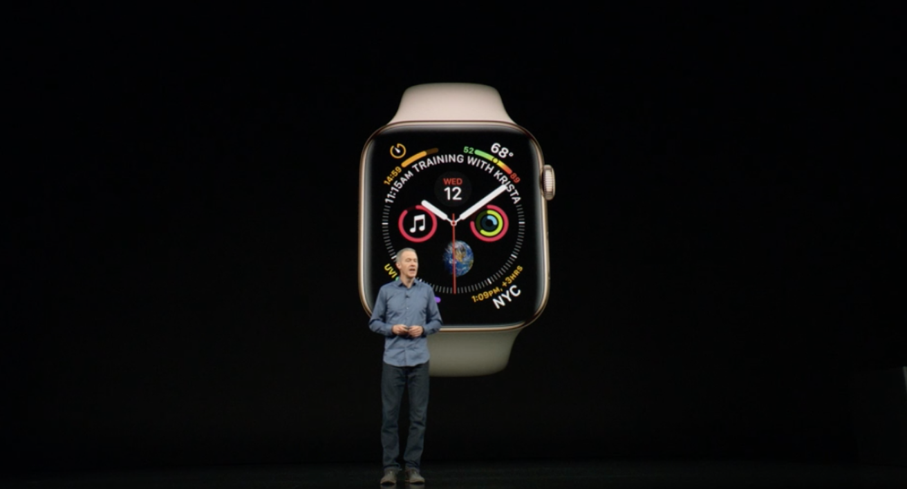 Jeff Williams présente l'Apple Watch.