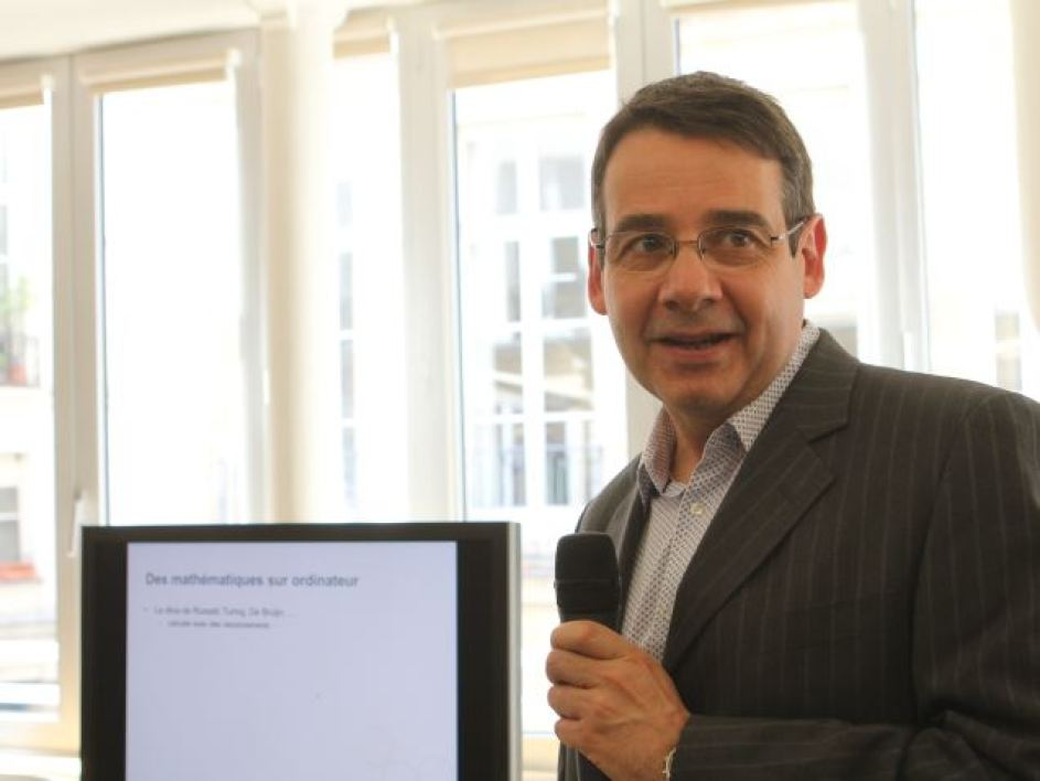 Georges Gonthier, Microsoft Reasearch