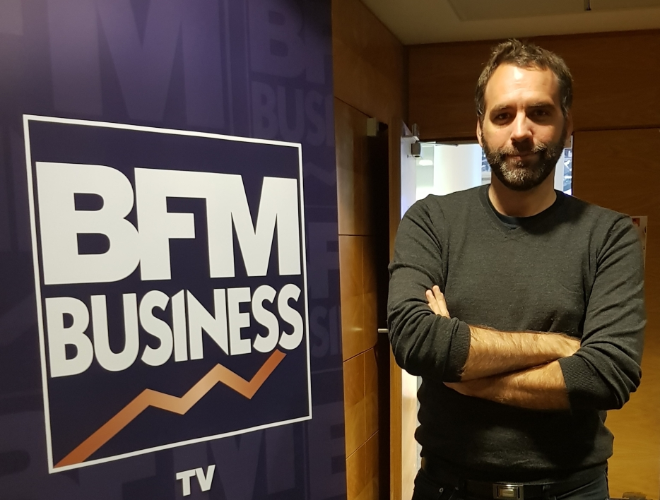 Julien Mouret, journaliste à BFM Business