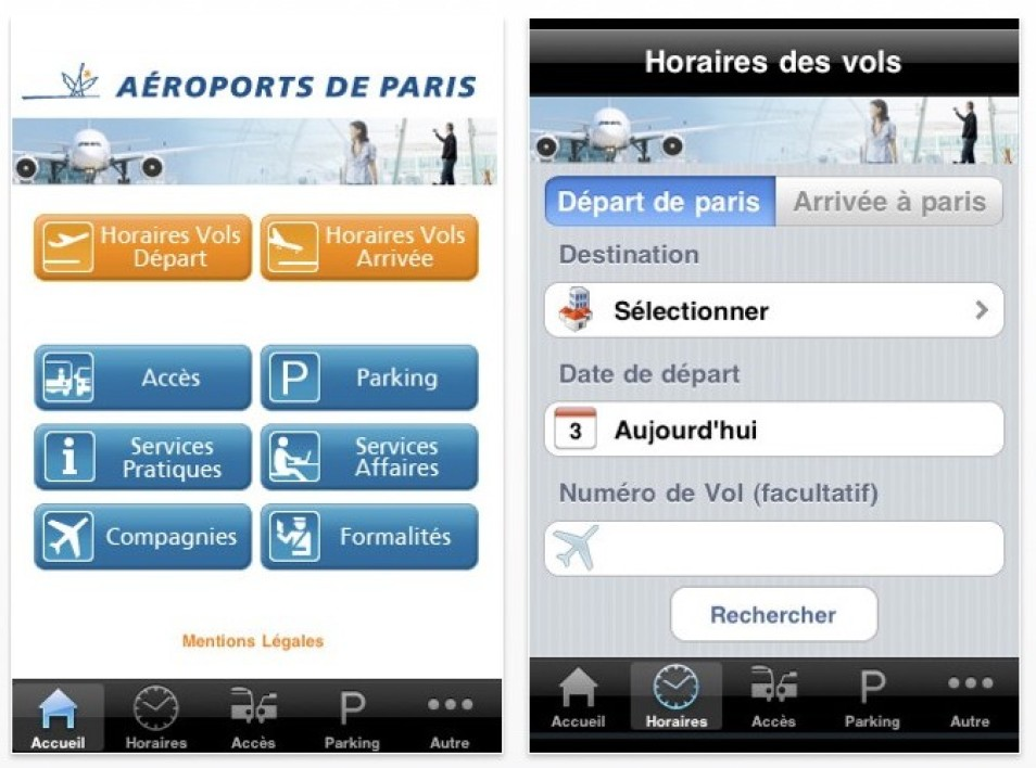 L'application My Airport